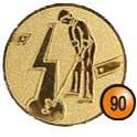 Medaille afslag 90