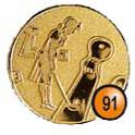 Medaille afslag 91