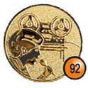 Medaille afslag 92
