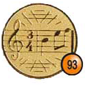Medaille afslag 93