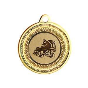 Rolschaats medaille Goud