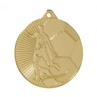 Voetbal medaille Goud