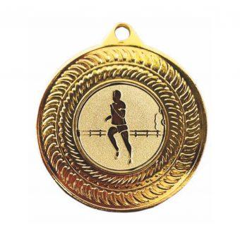 Hardloop medaille Goud