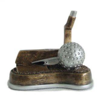 Sportprijs met golfbal