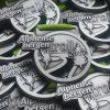 Custom made medaille - Alphense bergen trail 2017