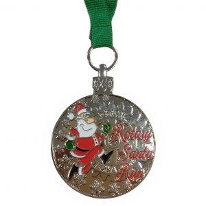 Custom made medaille - Santa2017