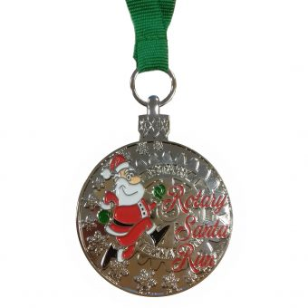 Custom made medaille - Santa2017