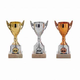 Sportprijs goud, zilver, brons