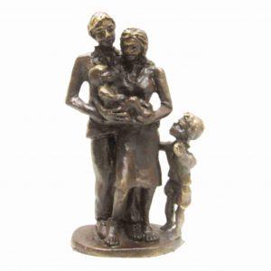 gezin met zoon